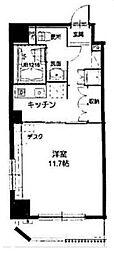 フォレシティ九段[6階]の間取り