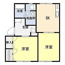 LSふじ[2階]の間取り
