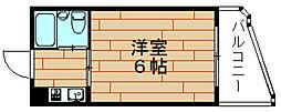 LeA・LeA伝法27番館[3階]の間取り