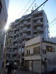 大阪府大阪市東住吉区照ケ丘矢田3丁目の賃貸マンションの外観