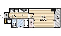 大阪府大阪市鶴見区横堤5丁目の賃貸マンションの間取り