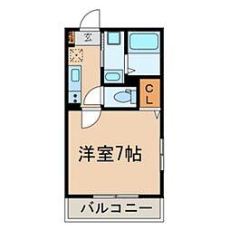 市川市平田PJ[105号室]の間取り