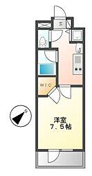 愛知県名古屋市昭和区川原通5の賃貸マンションの間取り