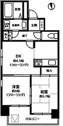 東府中のマンション[・・・号室]の間取り