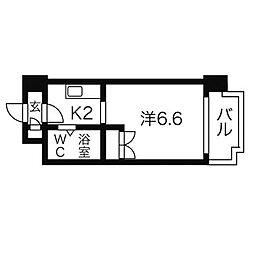 あおばビルN25[9階]の間取り