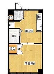 ライクハウス[4階]の間取り