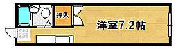 兵庫県姫路市野里慶雲寺前町8丁目の賃貸アパートの間取り