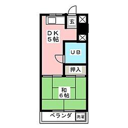 トキワビル[4階]の間取り