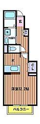 メゾンベル[1階]の間取り