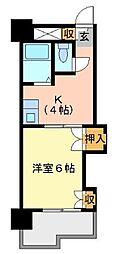 アネックス西桜[7階]の間取り