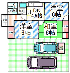 [一戸建] 長野県長野市大字金箱 の賃貸【/】の間取り