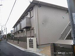 大阪府東大阪市御幸町の賃貸アパートの外観