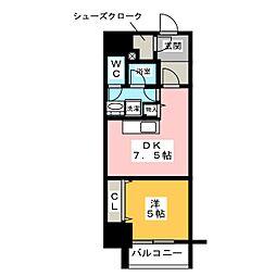 さくらHills ARAKO[6階]の間取り