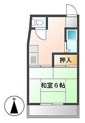 メゾンベルジュール神田[3階]の間取り