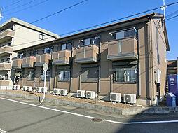 滋賀県湖南市平松北1の賃貸アパートの外観