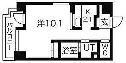 ヴィターレ[9階]の間取り