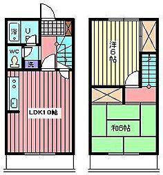 [テラスハウス] 埼玉県さいたま市北区奈良町 の賃貸【埼玉県 / さいたま市北区】の間取り