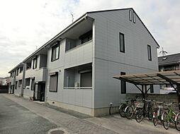 兵庫県伊丹市大鹿5丁目の賃貸アパートの外観