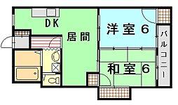 前浜ビル[2階]の間取り