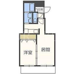 仮)N36W3マンション[2階]の間取り