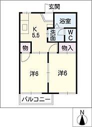 ESPERANCE[2階]の間取り