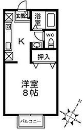 サンガーデン大山ABC[1階]の間取り