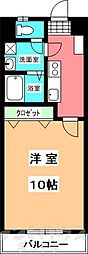 フォルテ小坂[9階]の間取り