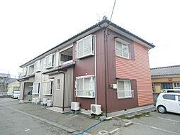 新潟県新潟市東区中野山4丁目の賃貸アパートの外観