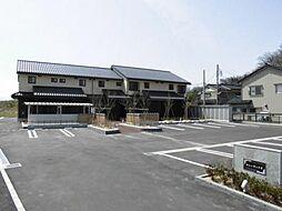 富山県富山市安養坊の賃貸アパートの外観