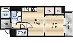 ヌーベルコート[4階]の間取り
