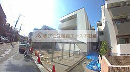 大阪府堺市北区南長尾町1丁の賃貸アパートの外観