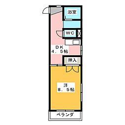 シャンパーニュ[3階]の間取り