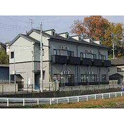 奈良県橿原市見瀬町の賃貸アパートの外観