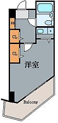 神奈川県川崎市川崎区砂子1丁目の賃貸マンションの間取り
