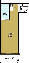アーバンハイツ梅香[2階]の間取り