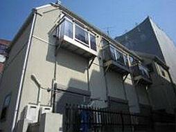 東京都練馬区南田中4丁目の賃貸アパートの外観