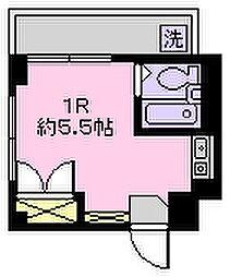 メゾン香取[2階]の間取り