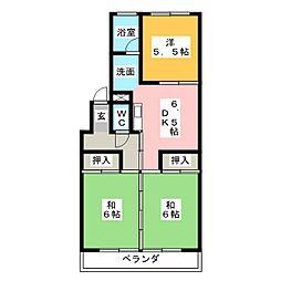 メゾン青山[2階]の間取り