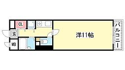 コスモ神戸北[101号室]の間取り
