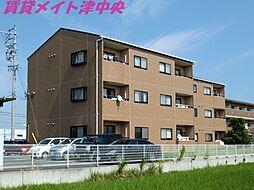 三重県津市雲出長常町の賃貸マンションの外観
