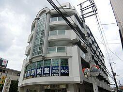 さとみマンション[3階]の外観