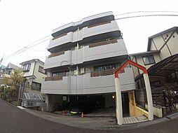 大阪府箕面市半町4丁目の賃貸マンションの外観
