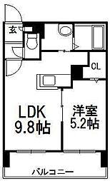 サンコート円山ガーデンヒルズ[7階]の間取り