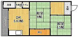 ニューグリーンマンション[3-E号室]の間取り