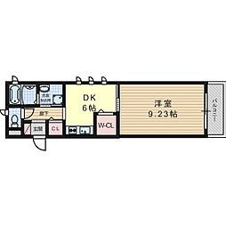 シンプルアドバンテージ[2階]の間取り