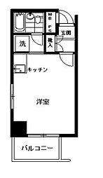ストーク小石川(ストークコイシカワ)[7階]の間取り