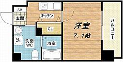 JP レジデンス大阪城東ll[2階]の間取り