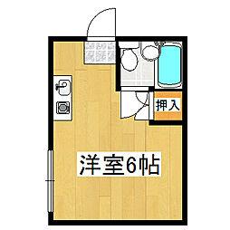 プレアール伏見桃山2[505号室]の間取り