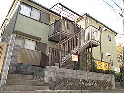 兵庫県宝塚市平井5丁目の賃貸アパートの外観