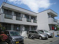 東京都日野市栄町3丁目の賃貸マンションの外観